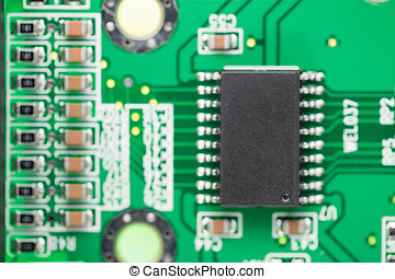 Microcircuit. - Microcircuit from a modem to connect to the...
