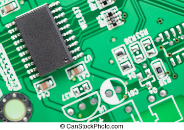 Microcircuit - Microcircuit from a modem to connect to the...