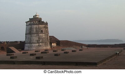 Portuguese fort in India
