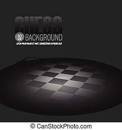 Chessboard Vector background - Black Chessboard Template...