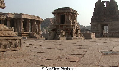 India Karnataka  Hampi. The ruins of Vijayanagara
