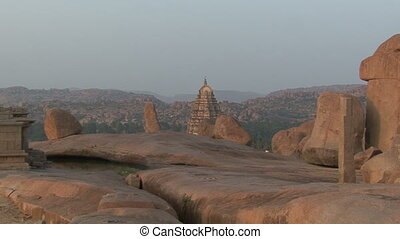 India Karnataka Hampi The ruins of Vijayanagara