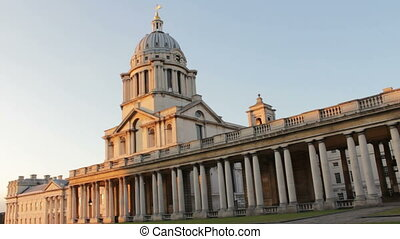 Old Royal Naval College in London - The area of Old Royal...