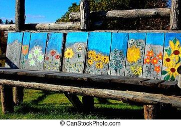 bench - artistic bench