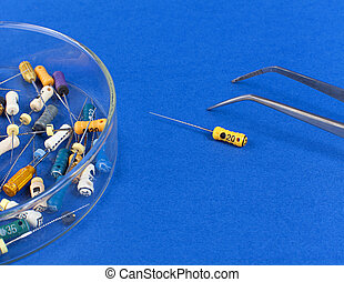 Instruments for root canal treatment - colored endodontic...