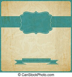 EPS10 vintage grunge old card Background with place for text...