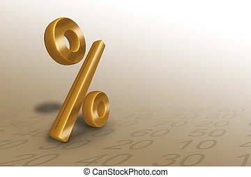 percent - image useful for discounts, sales etc...