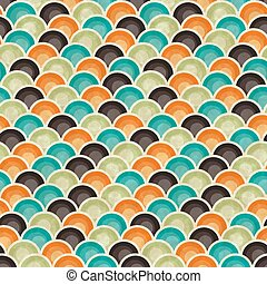 Seamless retro geometric pattern. EPS10 vector texture.