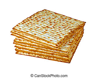 Matzo or matzah is bread traditionally eaten by Jews during...