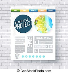 Business report ecological project template - Business...
