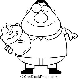 Holding baby Clip Art Vector Graphics. 5,918 Holding baby EPS ...