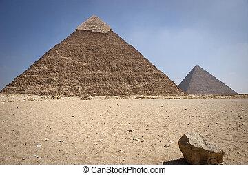pyramid,  khafrae