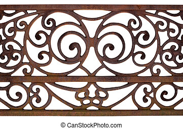 Ornate Detail of a fence