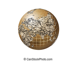 dry earth - future of the earth coused by global warming