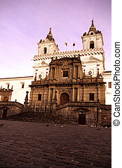 Church- Quito, Ecuador - Ecuadors oldest church- the 16th...