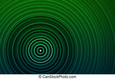 Concentric Circles as a Retro Texture Background