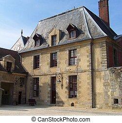 Palais du Luxembourg gate\'s - Paris city - Gate of the...
