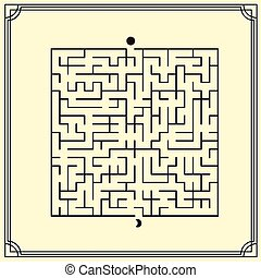 lovely square maze