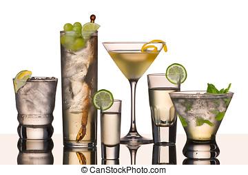 vodka,  six, boissons