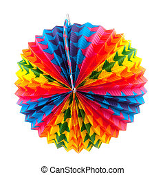 Paper lantern - Paper round Chinese lantern in many colors