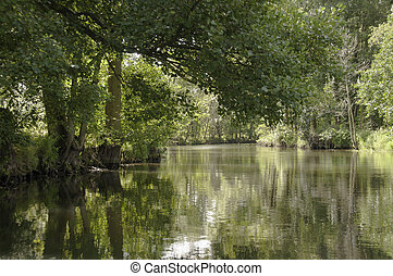Spreewald 2 - Boat trip in the biosphere reserve of...