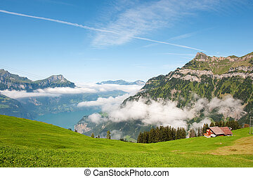 Switzerland in the mountains - In the mountains from...