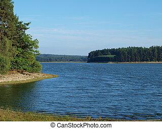pond Holna, South Bohemia, Czech Republic