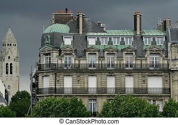 residential building paris