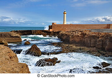 Lighthouse of Rabat, Morocco