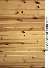 Horizontal Knotty Pine Boards - Horizontal background...