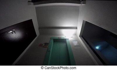 Elevator opening