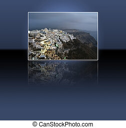 Santorini island - Thira, Santorini island, Greek: the...