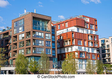 New apartment houses in Hamburg - New apartment houses in...