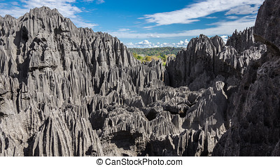 Tsingy de Bemaraha - The Tsingy de Bemaraha Strict Nature...