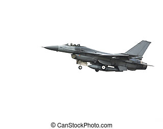 Aircraft F 16 - F 16 aircraft are flying in Thailand airport...