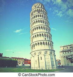 Leaning Tower of Pisa - The Leaning Tower of Pisa in Italy....