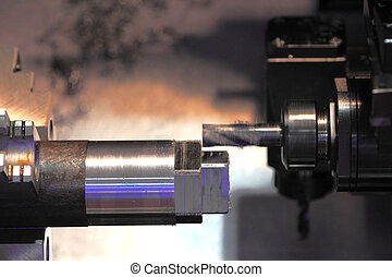 metalworking with end mill cutting tool - Metalworking with...