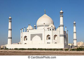 Fatima Zahra Mosque in Dahiya Abdullah Mubarak, Kuwait,...