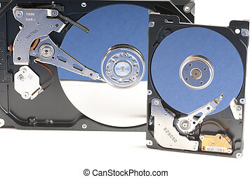 hard disk drive opened - details of hard disk drive opened...