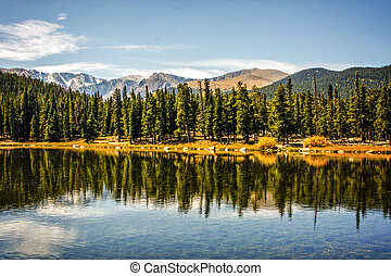 Rocky Mountain National Park - Sprague Lake at Rocky...