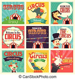 Circus icons
