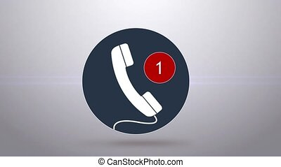 missed calls. Many missed calls