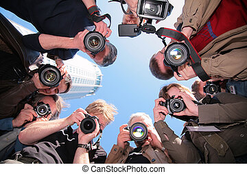 Fotógrafos, objeto