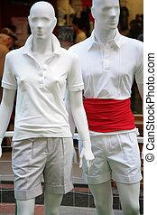 two men mannequin