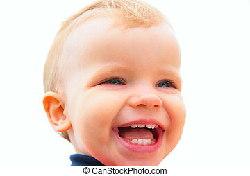 laughing child