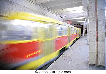 rapid tram in Volgograd