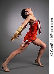 dancing woman poses