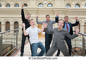 five friends rejoice