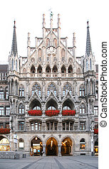 Gothic building. Munich. Germany