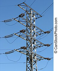 Power lines - The metallic handhold of aerial power lines